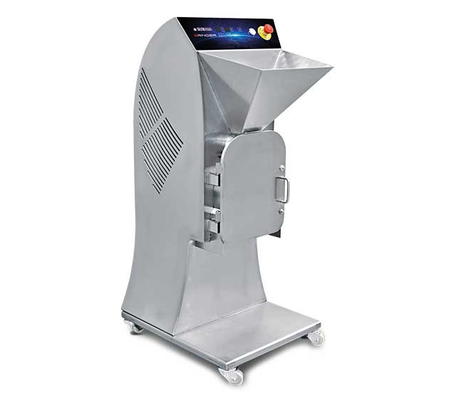 Grinder: Mill for the creation of dried fruit granules