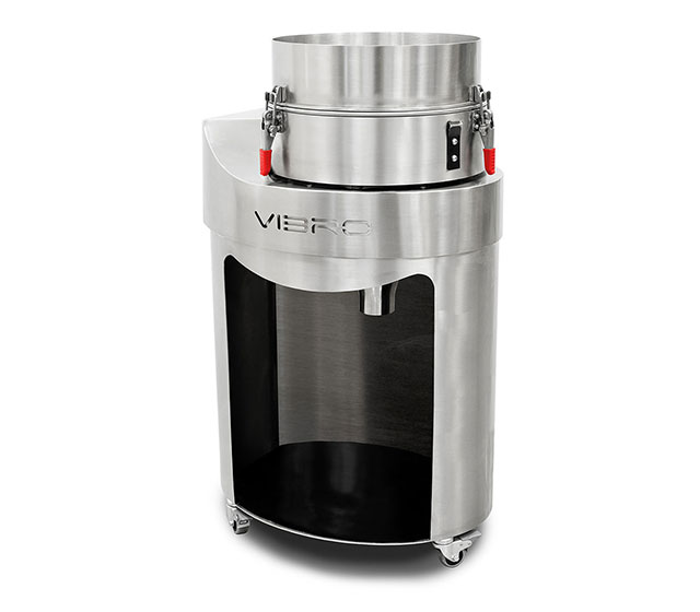 Vibrovaglio: Final automated sieve designed for filtering out the impurities introduced during processing.