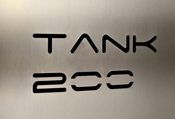 Tank 200 continuous chocolate mixer and melter